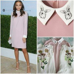 Victoria Beckham Blush Bunny Dress
